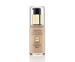 max factor facefinity all day flawless 3-in-1 foundation spf 20